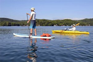 Wat is er sneller – Suppen of kayakken?