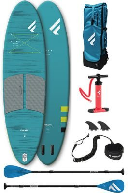 Fanatic Fly Air Pocket 10'4″ Pakket