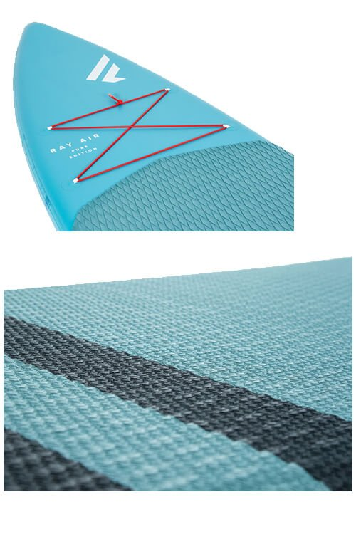 fanatic ray air deck net