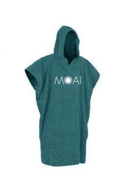 Moai Poncho Blauw