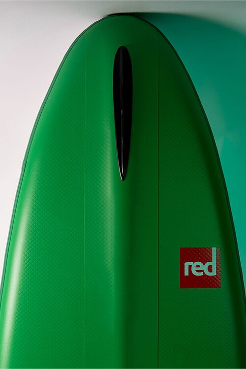 red paddle voyager 126 v-hule sup board