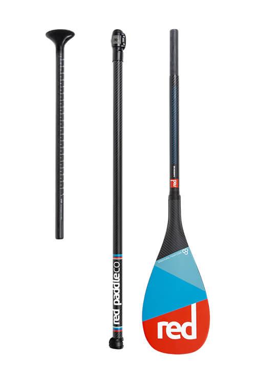 red paddle carbon 50 3 delige peddel