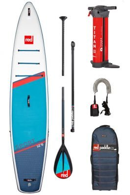 Red Paddle 12'6″ x 30″ Touring Sport MSL Supboard Pakket