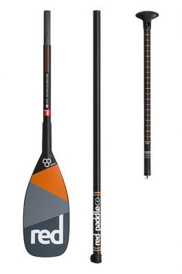 Red Paddle Ultimate Carbon 3-Pieces Peddel