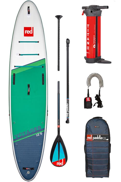 red paddle co voyager 12'6 package