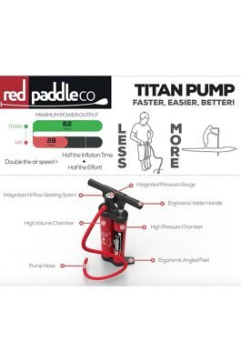 Red Paddle Titan Pomp V1