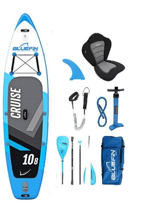 bluefin cruise 108 sup board pakket