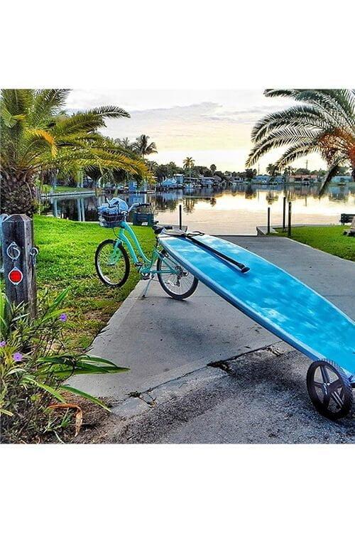 supboard karretje voor aan de fiets