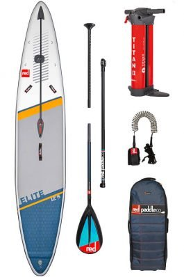 Red Paddle 12'6″ x 28″ Elite Race Supboard Pakket