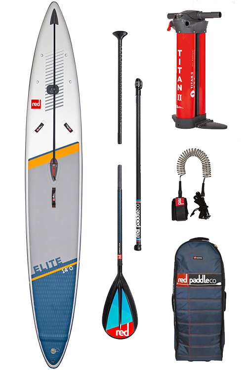 red paddle elite sup board pakket