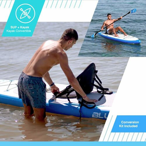 blue fin carbon sup kajak