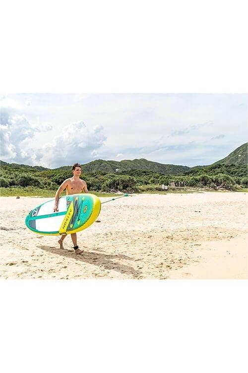 aztron super nova paddle boarding