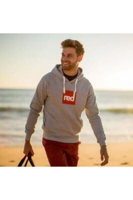 Red Paddle Square Hoodie Heren