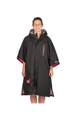 Red Paddle Short Sleeve Pro Change Robe